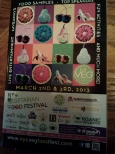 food festival booklet