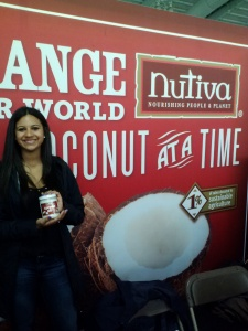Nutiva stand at the Green Festival