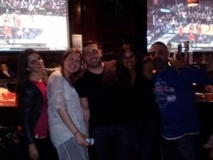 lauren, steph, bartender, me and funny guy