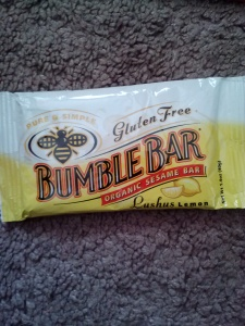 Bumble Bar Organic Sesame Bar Lushus Lemon