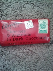 Cherries & Almond in Dark Chocolate