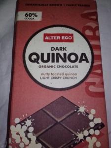 Alter Ego dark quinoa bar