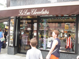 first stop- Li-Lac Chocolate!