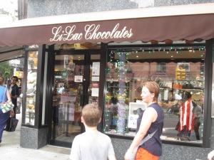 first stop- Li-Lac Chocolate!