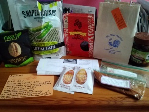 My August Foodie Penpal Package