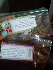 Mexican Spice blend and Italian Spice blend